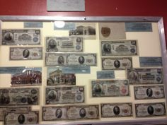 The Higgins Museum in Okoboji is the nation's largest collection of national bank notes on display in a permanent collection.