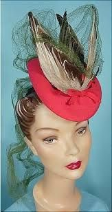 Image result for 1930s percher hat