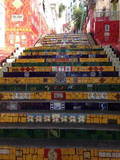 Escadaria do Selarón, Brasil