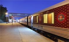 An Exterior view of Maharajas Express Train