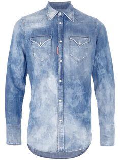 DSquared - Abbigliamento - Camice - S71DL0579S3034189 Evergreen denim! (310,50€) #denim #shirt #dsquared #new #collection #summer #man #fashion #cool