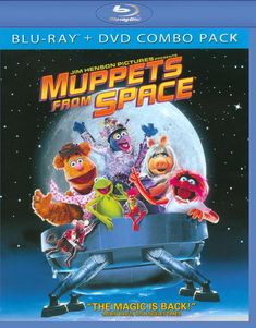 Muppets from Space [Blu-ray/DVD] (Enhanced Widescreen for 16x9 TV) (Danish/English/French/German/Spanish) 1999 - Larger Front