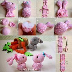 Image - doudou lapin en chaussette - Blog de Images Idees32 - Skyrock.com #sock #bunny