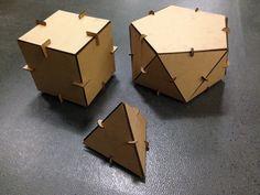 Cardboard connectors Fab Academy 2014