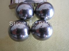 Dia 20 mm Chrome Steel ball for paracord monkey fist  accessories for survival bracelet