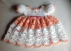 knitted baby dress pattern - Google Search