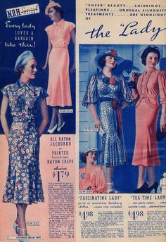 Spring and Summer 1937 National Bellas Hess