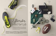Nice products layout by Rikke Blicher