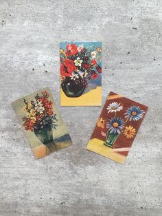 A personal favourite from my Etsy shop https://www.etsy.com/no-en/listing/249866152/postcards-floral-norwegian-postcards-set