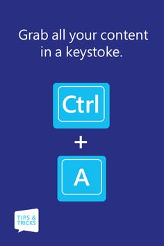 Select all your text with Ctrl + A.