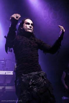 Dani Filth, Cradle Of Filth, Concert, Music, Musica, Musik, Concerts, Muziek, Music Activities