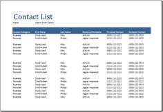 Contacts List Template Gorgeous Loan Analysis Worksheet At Dotxls  Microsoft Templates .