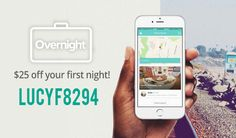 Overnight Promo Code: Read our Overnight App review and get $25 Free with code LUCYF8294!