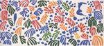 Henri Matisse, La Perruche et la Sirène, 1952. Guouace on paper cut and pasted. Stedelijk Museum, Amsterdam.