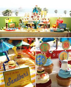 I've never had a surprise party.{A Pirate Looks at Jimmy Buffett Themed Surprise Party // Hostess with the Mostess® 30th Party, Adult Birthday Party, 30th Birthday Parties, Birthday Party Themes, Birthday Ideas, 30 Birthday, Surprise Birthday, Summer Birthday, Birthday Stuff