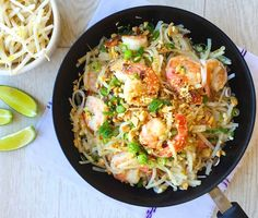 Easy Shrimp Pad Thai  - Delish.com