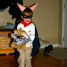 DIY Skippyjon Jones costume
