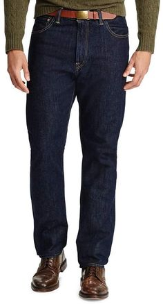 Polo Ralph Lauren Big & Tall Hampton Straight-Fit Jeans Big & Tall Jeans, Mens Big And Tall, Dillards, The Hamptons, Polo Ralph Lauren, Fitness, Pants, Shopping, Clothes