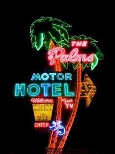 The Palms Motor Hotel by Curtis Gregory Perry, via Flickr