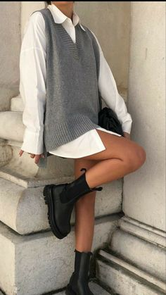 Winter Fashion Outfits, Look Fashion, Spring Outfits, Korean Fashion, Autumn Outfits, Simple Fashion Style, Edgy Fall Fashion, Simple Clothing Style, Indie Fall Outfits