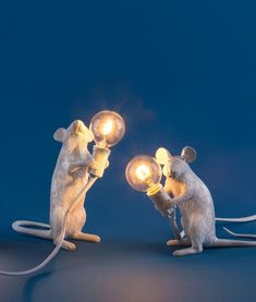 Mouse Table Lamp with LED Lamp
