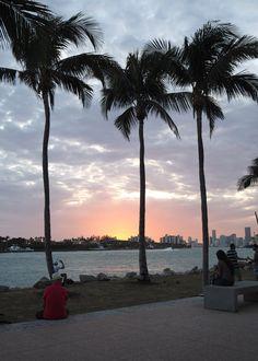 Miami Beach, Miami Sunset, Miami Florida, Summer Beach, Wallpaper Tumblr Lockscreen, Iphone Wallpaper, Beach Photography, Beach Pictures, Dream Vacations