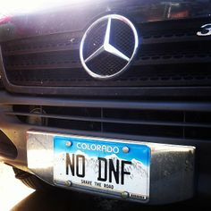 #CO  #NODNF license plate