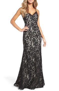 4d36e409f02 Main Image - Xscape Lace Slipdress Formal Dresses For Women