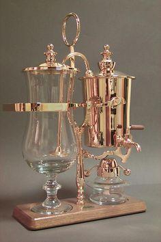 Royal Belgian Coffee Maker (Modern Gold)