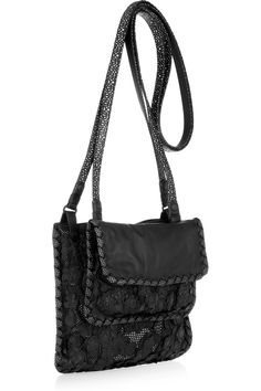 BOTTEGA VENETA  Urban Lace two-in-one leather bag