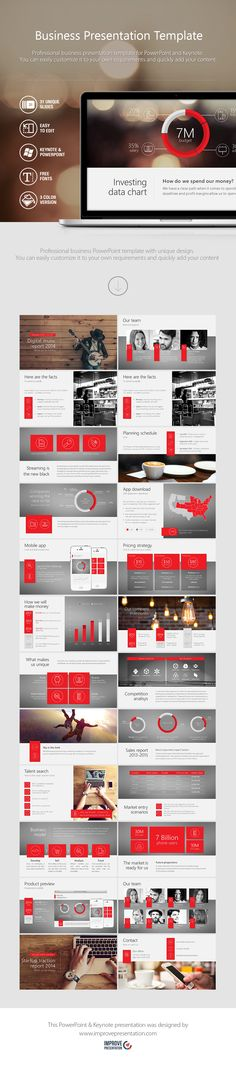 Professional business PowerPoint template with unique design. You can easily customize it to your own requirements and quickly add your content. #powerpoint #business #template  LINK -> https://www.improvepresentation.com/powerpoint-templates/business-powerpoint-template