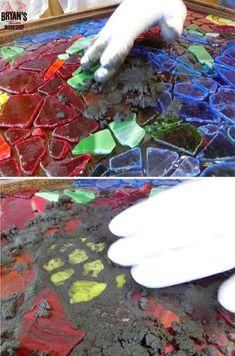 How To Make A DIY Mosaic Glass Light