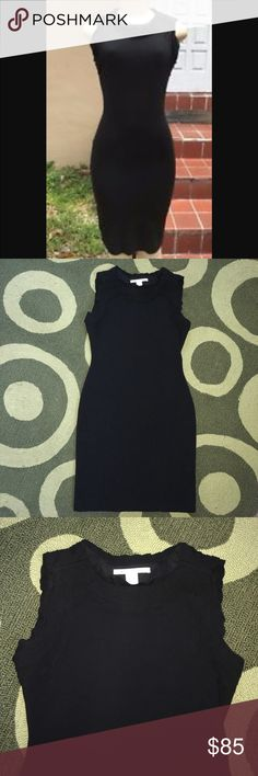 Diane Von Furstenberg Plateau Bee Midi Dress This Diane Von Furstenberg black Midi is so sophisticated, classic & sexy. This has a bodycon fit to it. It hugs you in all the right spots. Very slimming and flattering. This is your classic your little black dress. Very versatile. This can be worn in the work office or an evening out on the town. This dress is beautiful with black heels. Size 12. Excellent Condition!! Please check out my closet! New items listed daily! Diane Von Furstenberg…