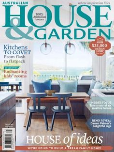 Australian House & Garden March 2016 Issue- House of Ideas - Kitchen | Kid's Room.  #AustralianHouseandGarden #HomeDecor #Kitchen #KidsRoom #ebuildin