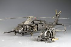 Two beautiful 1/35 MH-60L and AH6J nightstalkers machines by Oppenheimer over on Britmodeller