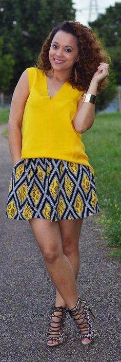 Tribal Shorts -   Regina London