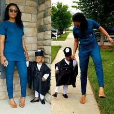 This Couple and Parents to 4 Amazing Kids Are So Fashionable - See Them Slay in Matching Outfits - Wedding Digest Naija Couples African Outfits, Couple Outfits, Family Outfits, African Attire, African Wear, African Dress, African Style, Latest African Fashion Dresses, African Men Fashion