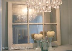 Vintage Window Mirror and the DIY Project Parade | DIY Show Off ™ - DIY Decorating and Home Improvement Blog