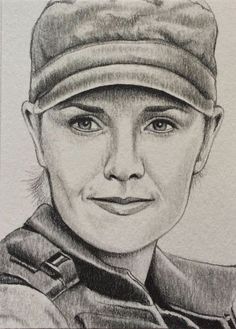 Stargate SG1 Samantha Carter Amanda Tapping ACEO Sketch Art Card Drawing | eBay