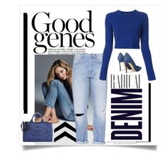 """""""Good Jeans... Radical Denim"""" by conch-lady ❤ liked on Polyvore"""