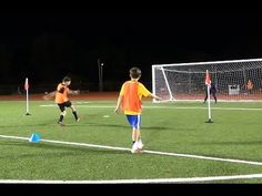 Premier League Shooting Drill - YouTube
