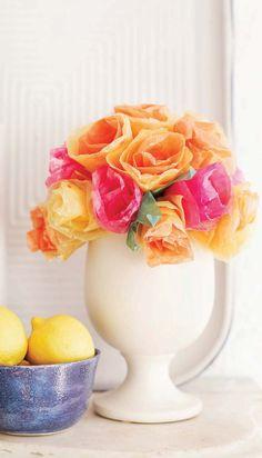 Sweet Paul's Wax flowers