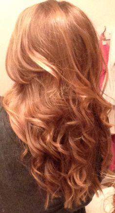 My new hair (: