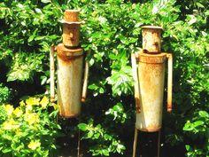 More Garden Junk/Art & Accoutrement Ideas - Empress of Dirt
