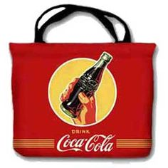 Hand with Bottle Large Coca-Cola Tote