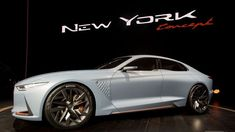 Awesome Cars luxury 2017: Genesis' New York Concept is a sports sedan that'll make you look twice  Automotive Check more at http://autoboard.pro/2017/2017/04/23/cars-luxury-2017-genesis-new-york-concept-is-a-sports-sedan-thatll-make-you-look-twice-automotive/