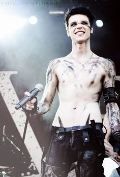 shirtless is his best outfit.