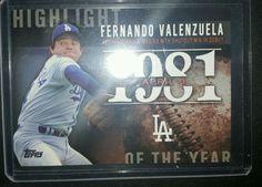 2015 Topps Series Fernando Valenzuela Highlight Of the Year Los Angeles Dodgers in Sports Mem, Cards & Fan Shop, Cards, Baseball | eBay