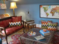 7 Steps to Decorating Your Bedroom in the Eclectic Style: Find a Color Scheme and Stick to It