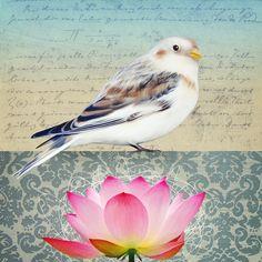 Bird Art Journal Page